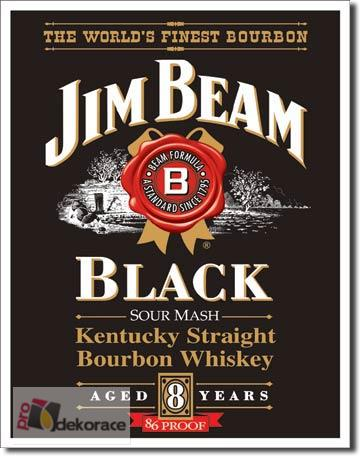 Cedule Jim Beam - Black label