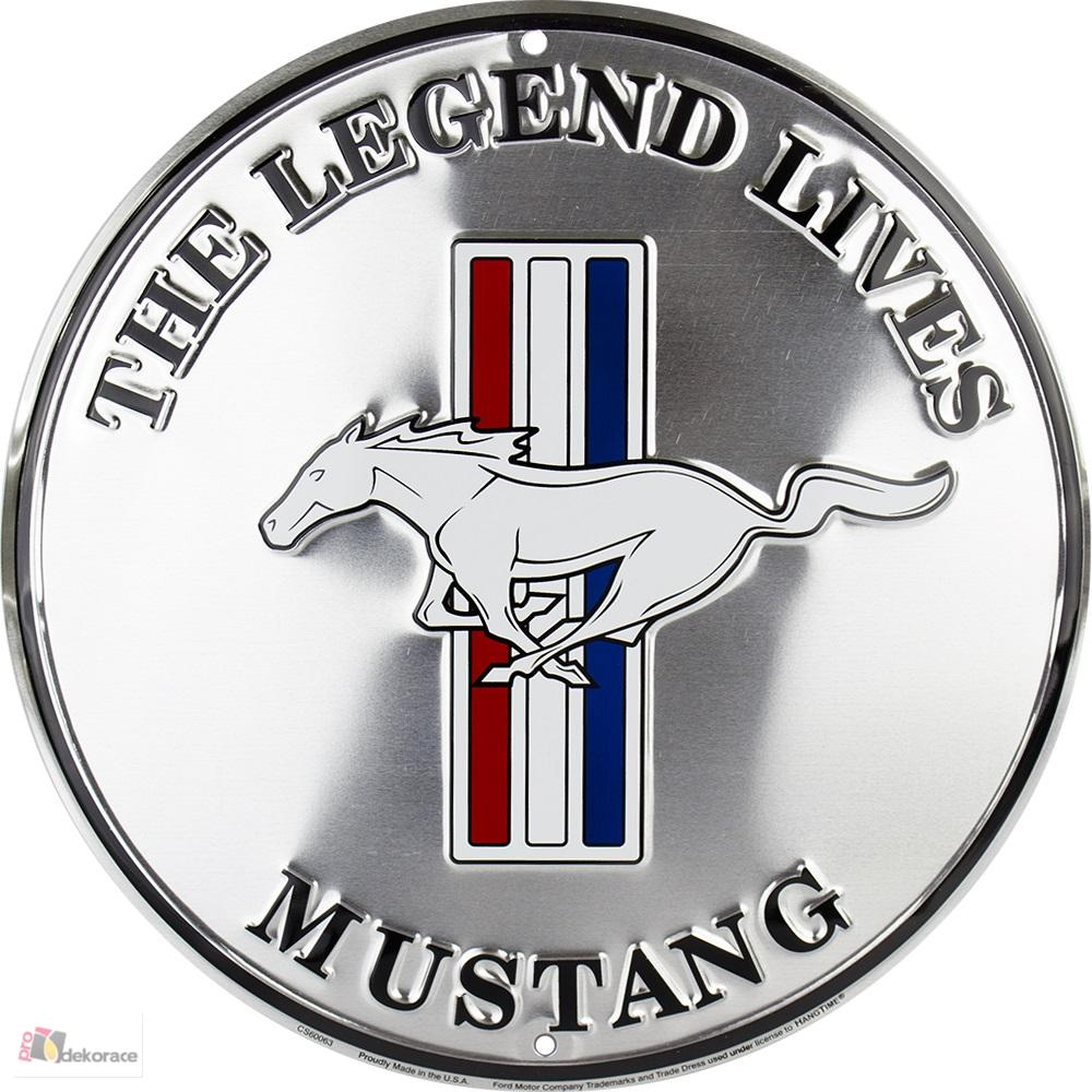 cedule Ford Mustang round