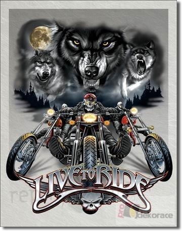 Cedule Live to Ride Wolves