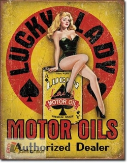 cedule Lucky Lady Motor Oil