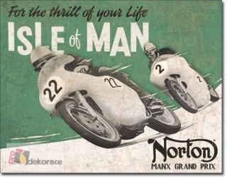 Cedule Norton - Isle of Man