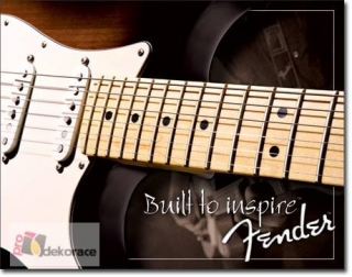 Cedule Fender Built to Inspire