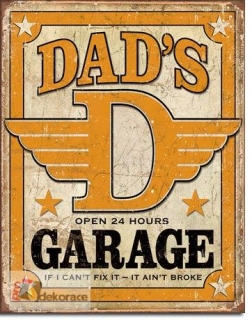 cedule Dads Garage