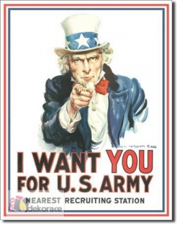 cedule Uncle Sam I Want You