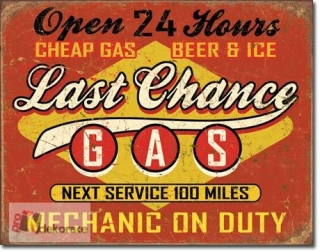 Cedule Last Chance Gas