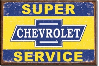 Magnet Super Chevy Service